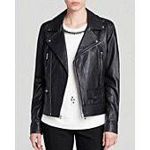 Dylan Gray Leather Moto Jacket - Bloomingdale's Exclusive