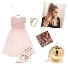 """""""Untitled #305"""" by mildabas ❤ liked on Polyvore featuring Ballet Beautiful, Nila Anthony, Valentino and Dutch Basics"""