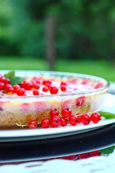 Punaherukkapiirakka kermaviilipäällisellä - Suklaapossu Raspberry, Strawberry, Fruit, Food, Essen, Strawberry Fruit, Meals, Raspberries, Strawberries