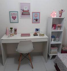 Room Design Bedroom, Small Room Bedroom, Room Ideas Bedroom, Home Decor Bedroom, Study Room Decor, Cute Room Decor, Teen Room Decor, Home Design Decor, Home Room Design