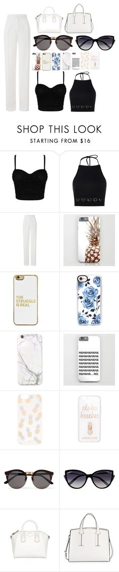 """""""summer part4"""" by annj-notoy on Polyvore featuring Boohoo, Amanda Wakeley, BaubleBar, Casetify, russell+hazel, Sonix, Illesteva, La Perla and French Connection"""