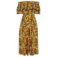 f943bc2a9b8 Buy Whistles Nadia Citrus Print Silk Jumpsuit