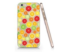Lemon Transparent Plastic Phone Case for Iphone 6/6s (VA986) Yurishop