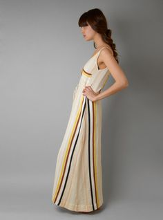 Couverture and The Garbstore » Dunes Stripe Maxi Dress
