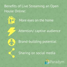 [New Blog] Why live-stream an open house online?  #realestate #realestate