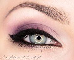 Purple Glow eyes