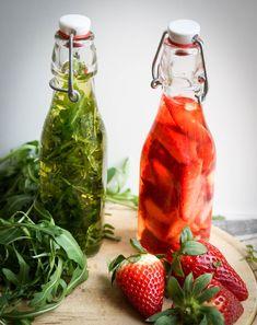 Erdbeeressig und Rucolaoel - FoodForFamily