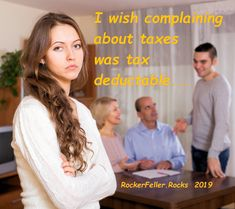 Ever notice that the people who complain the most about taxes, pay the least? Facebook Sign Up, Originals, Wish, People, People Illustration