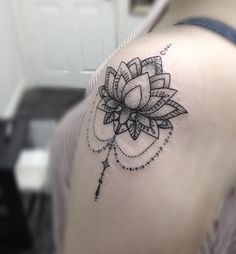 Lotus Flower & Patterns Tattoo by Medusa Lou Tattoo Artist - medusaloux@outlook.com