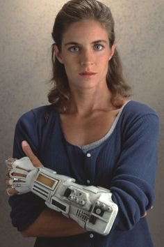 This is a picture with the biomedical gear from Earth 2 Series   #Julia Heller #Earth 2 #Jessica Steen