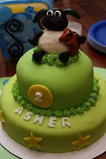 Timmy Time cake!