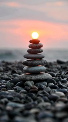 Stones and sunshine timing Photography iPhone wallpapers. Tap to check out more iPhone backgrounds. - @mobile9