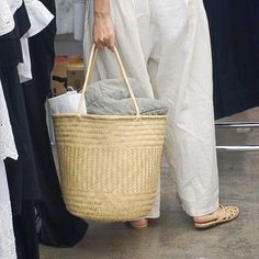 Our kind of shopping basket - spotted at our LA 2016 Spring show.  Don't miss out on our biggest show yet next month in NY! Tickets on sale at our website. #ACurrentAffair #BestVintageUnderOneRoof #ShopVintage