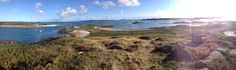 View from Tean Hill #islesofscilly
