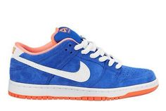 Nike SB Dunk Low Pro – Game Royal / White / Bright Mango