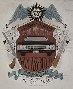 Supernatural Poster by Koroa
