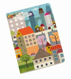 "#Notebook blanco ""Dans ma Ville"" by #Mini #Labo from www.kidsdinge.com https://www.facebook.com/pages/kidsdingecom-Origineel-speelgoed-hebbedingen-voor-hippe-kids/160122710686387?sk=wall"