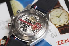 Baselworld 2015 Zenith El Primero Chronomaster 1969 Tour Auto Edition Watch