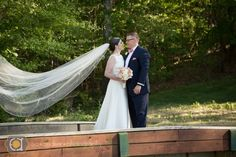 Our bride Molly wearing @pronovias! Emily Decker Photography. #ballgown #bows