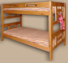 Custom hardwood bunk beds for kids and adults. Factory direct and custom made bunk beds from Canadian hardwoods. Girls Bunk Beds, Adult Bunk Beds, Double Bunk Beds, Cool Bunk Beds, Kid Beds, Bunk Beds Canada, Bunk Bed Designs, Loft Spaces