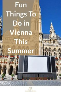 Planning to travel to Vienna in Summer? Visit the #ConcertVienna blog for 9 fun things to do in Vienna this summer! #Vienna #Austria #Europe #Travel #TravelTips #Travelling #Wanderlust #Vacation #Holiday #Summer