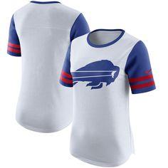 Buffalo Bills Nike Women's Gear Up Modern Fan Performance T-Shirt - White