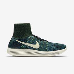 buy online 472de 1d7eb 2016-2017 Sale Men Nike Lunarepic Flyknit Photo Blue Poison Green Black  818676 003 New