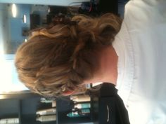 Updo I did this week for the military ball!!! I thought I couldn't do braids.