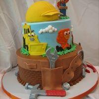 Bob The Builder Birthday Cake more at Recipins.com