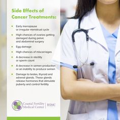 Cancer treatment can affect your fertility in several ways. If you or someone you know is beginning cancer treatment and would like more information on how you can preserve your fertility, use the link to schedule a complimentary consultation.  #fertilityeducation #fertility #eggfreezing #cryopreservation #lookafteryourself #reproductivehealth #eggclub #goodeggs #eggfreezingjourney #motherhood #eggclub #creatingfamilies #fertilitytreatment #eggfreeze #fertilitypreservation #selfcare