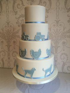 Home - Hannah Hickman Cakes Themed Wedding Cakes, Partridge, Amazing Cakes, Tractor, Farmer, Labrador, Sweet Treats, Chicken, Future