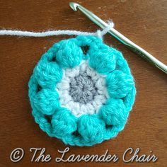 Wildflower Mandala Square - Free Crochet Pattern - The Lavender Chair (7)