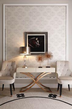 A&X Larissa Modern White Fabric Dining Chair - Westfield Topanga Mall Floor Sample Sale - Local Store