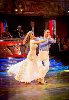 a49957485 Abbey & Aljaz Quickstep to 'Walking on Sunshine' by Katrina & the Waves  Scored 37. Amy Pearson · Strictly Come Dancing ...