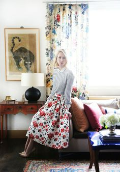 Shop the Look: Indre Rockefeller's Print-Happy Home