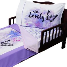 Unique Sweet Jojo Designs butterfly Pink and Purple