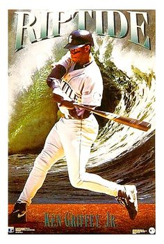 Ken Griffey Jr. ''Riptide'' Ken Griffey, 90s Nostalgia, Seattle Mariners, Baseball Cards