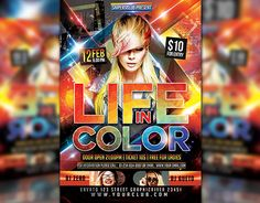 "Check out new work on my @Behance portfolio: ""Life In Color Flyer"" http://be.net/gallery/33015587/Life-In-Color-Flyer"