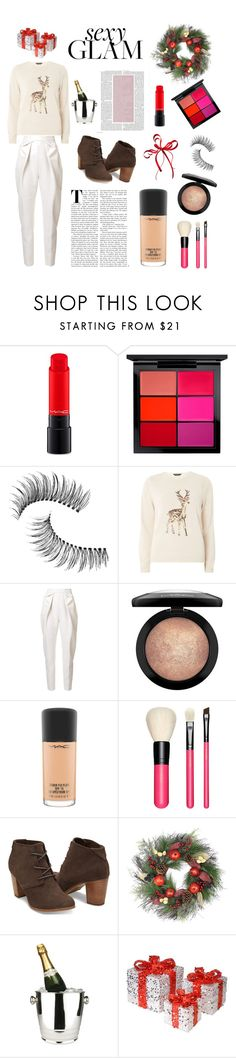 """Ready To Party"" by midnightsouless ❤ liked on Polyvore featuring beauty, MAC Cosmetics, Trish McEvoy, Dorothy Perkins, Delpozo, Winco and National Tree Company"