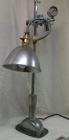Elegant Vintage Industrial Table Lamps