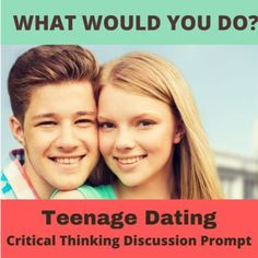 How young is too young to start dating? What should dating for young teenagers look like? What would you tell your 12-year old son or daughter if they wanted to date? Does it matter if it's a son or daughter? Or what if they were already 18 years old? Get students thinking and talking with this single creative What Would You Do? hypothetical situation. This flexible and adaptable ESL/EFL or social studies activity generates conversation, perspective-taking and problem-solving.