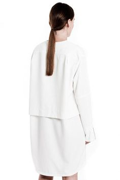 Purism Shirt Dress by House of Sunny, UK