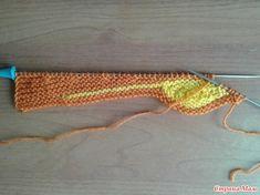 "Шапочка ""ЛИСТОПАД"" Knitting Stitches, Baby Knitting, Tricot Baby, Knit Crochet, Crochet Hats, Crochet Clothes, Mittens, Knitted Hats, Knitting Patterns"