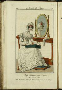 Petit Courrier des Dames : annonces des modes, des nouveautés et des arts del 10 de Septiembre de 1822
