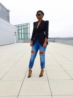 Wardrobe Essential: the black blazer