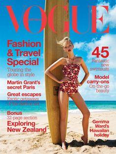 Gemma Ward for Vogue Australia November 2004