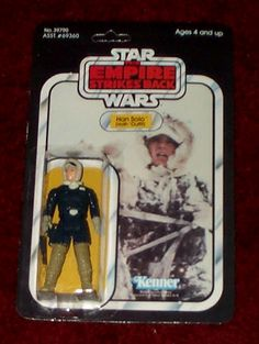 Kenner Emipre Strikes Back Action Figure- Han Solo Hoth Outfit
