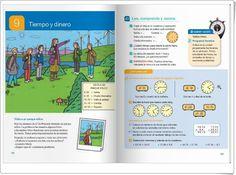 """Unidad 9 de Matemáticas de 4º de Primaria: """"Tiempo y dinero"""" Map, Interactive Activities, Unity, United States, Money, Reading, Cards, Maps"""