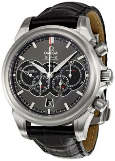 Watches best price Omega Men's DeVille Chronograph Watch It's in between, not too big but not small either. This strap of this Omega made of calf… Dream Watches, Fine Watches, Men's Watches, Cool Watches, Fashion Watches, Wrist Watches, Stylish Watches, Luxury Watches For Men, Casual Watches