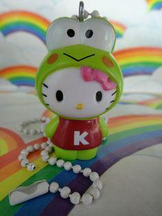 Sanrio Hello Kitty as Keroppi